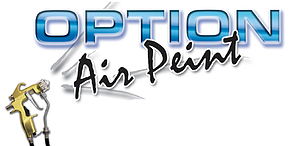 logo option air peint